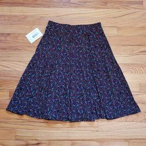 LulaRoe - Madison Paper Crane Skirt XSmall